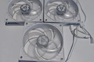 Снимка номер 2 за 3 Вентилатора за компютър ARCTIC P12 Бял/Прозрачен